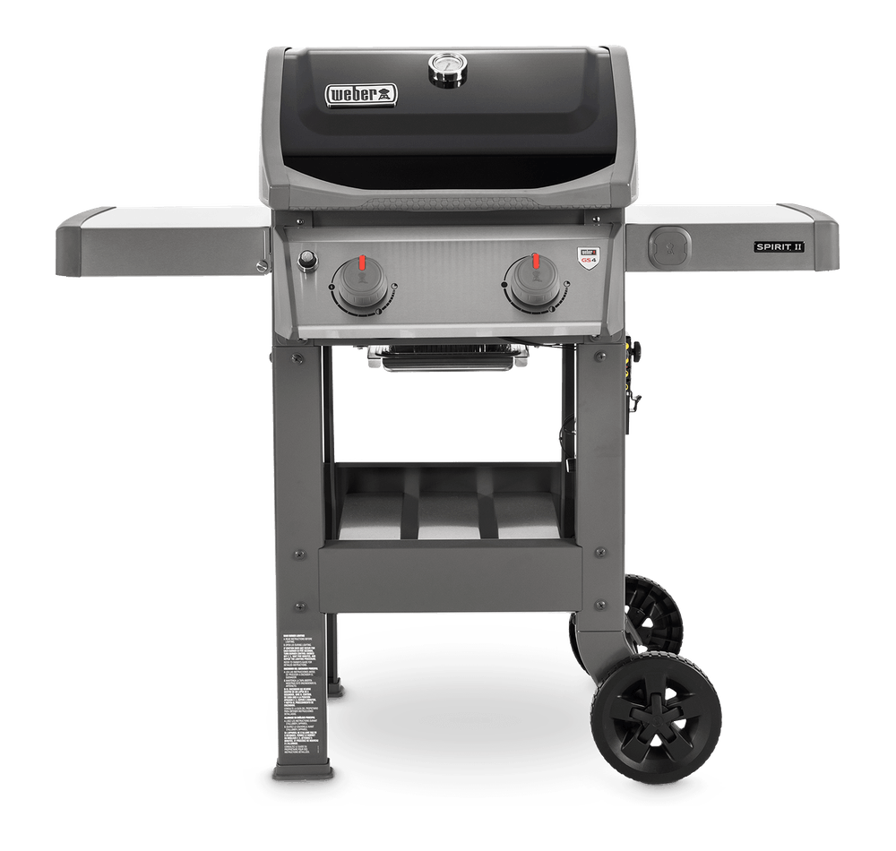 1. Weber Spirit II E-210 Black LP Outdoor Gas Grill