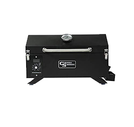 2.Country Smokers CS150PPG Traveler Wood Pellet Grill and Smoker